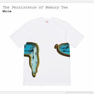 SUPREME Persistence of Memory Tee Dalí White XL